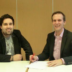 Angel Dabarca und Patrick Schlüter im Gespräch über Tui